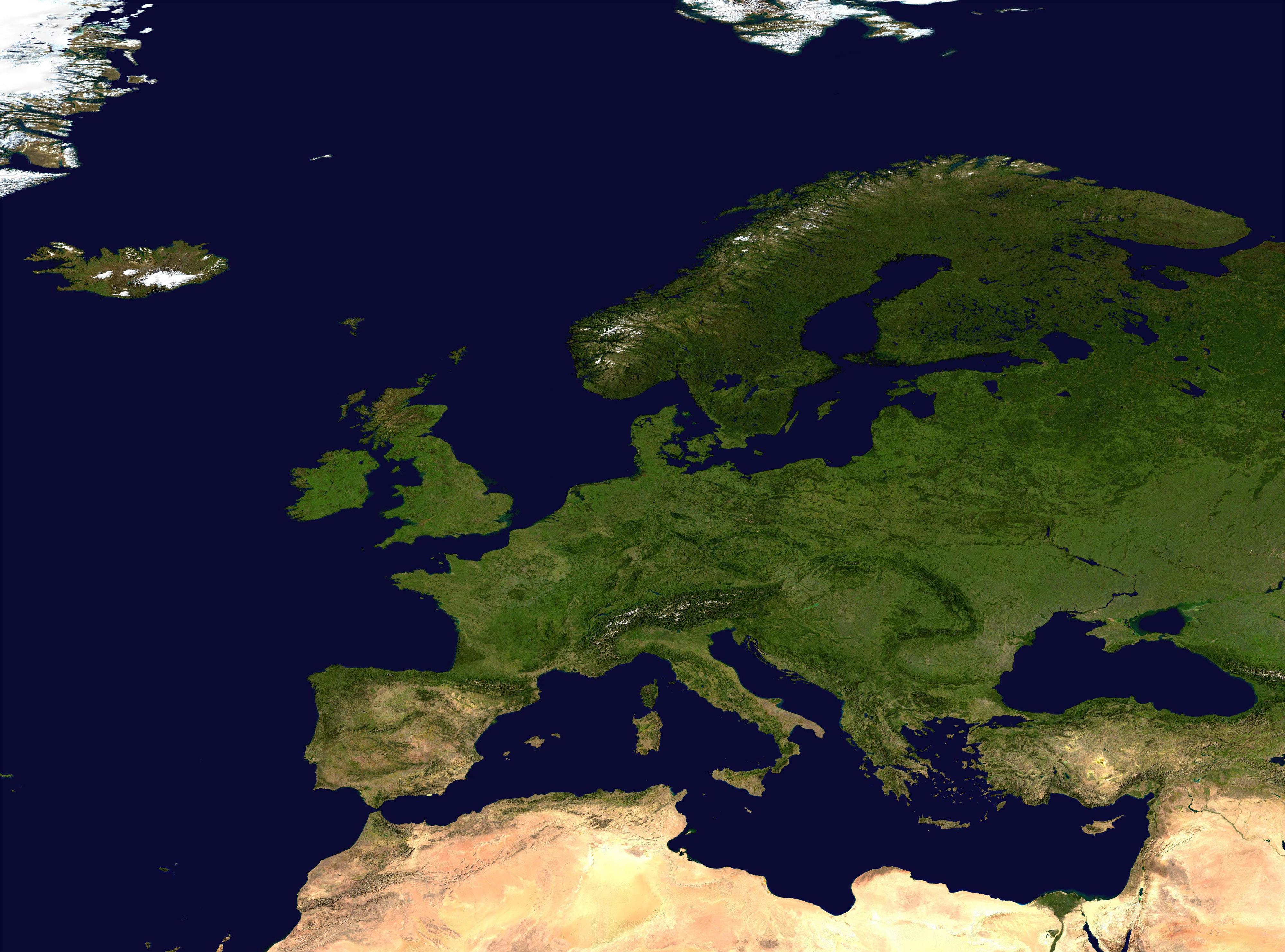 carte Europe 3