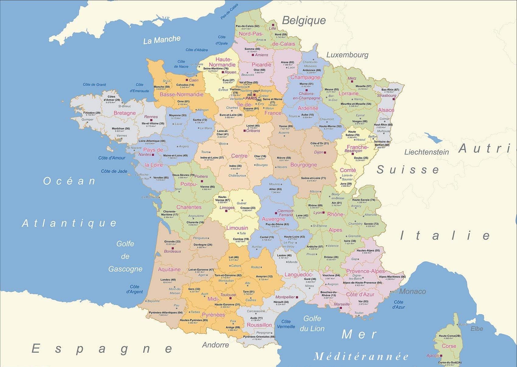 carte de France1