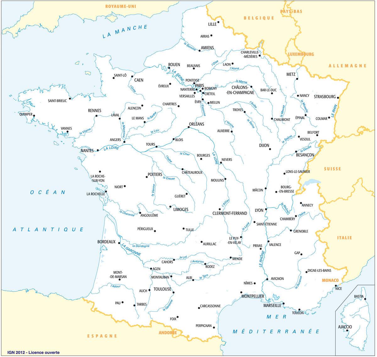 carte de France3