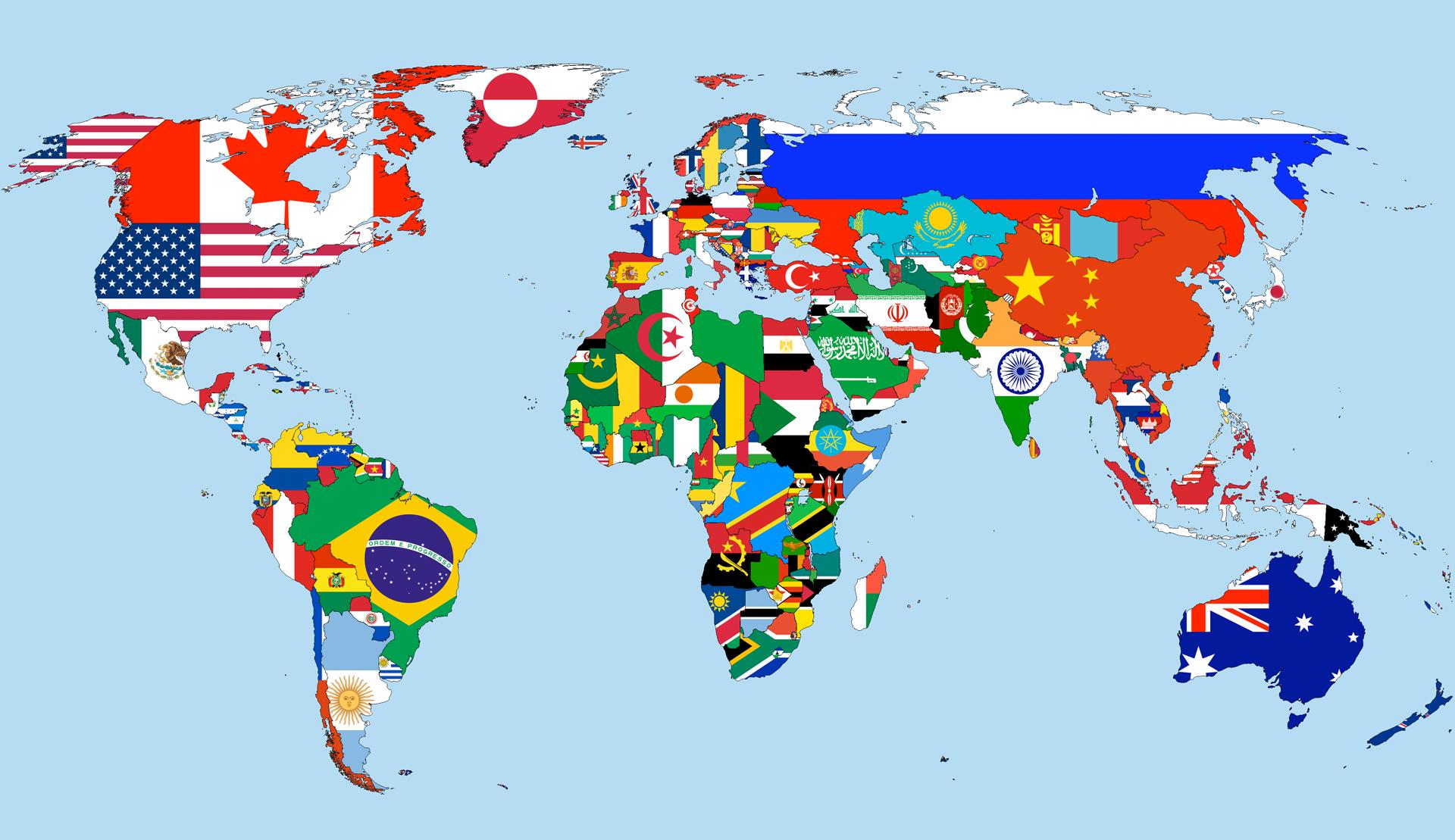 drapeaux du monde 2