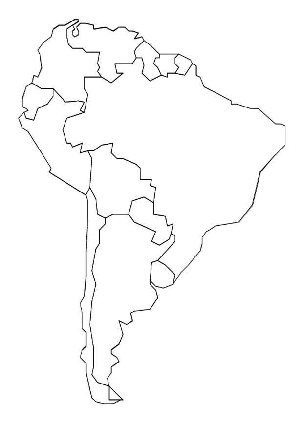 matrice carte d'Amérique du Sud - Copie - Copie - Copie